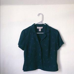 Vintage NORTON patterned top